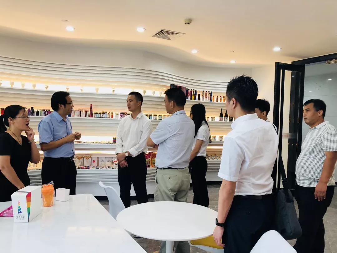 资讯|广东省梅州市委常委、副市长刘棕会一行莅